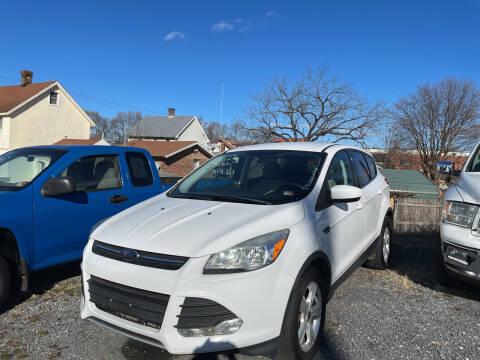 2014 Ford Escape for sale at Village Auto Center INC in Harrisonburg VA