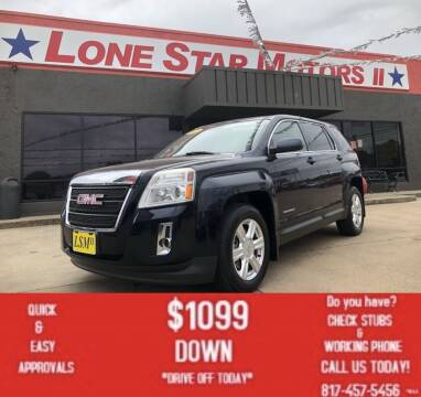 2015 GMC Terrain for sale at LONE STAR MOTORS II in Fort Worth TX