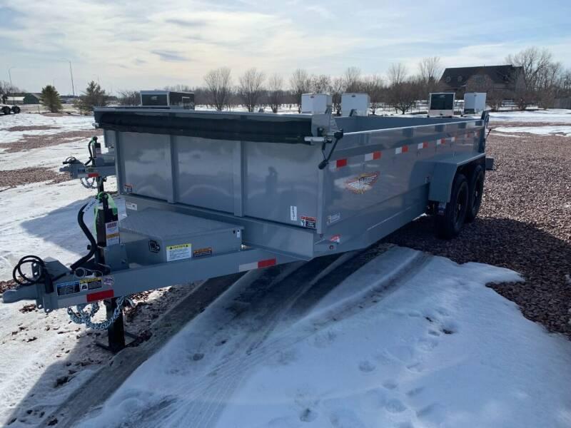 2021 H&H DBW-16 Dump Box #8701 for sale at Prairie Wind Trailers, LLC in Harrisburg SD