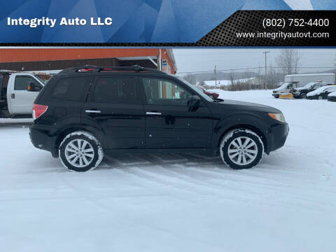 2011 Subaru Forester for sale at Integrity Auto LLC - Integrity Auto 2.0 in St. Albans VT