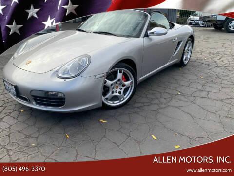 2005 Porsche Boxster for sale at Allen Motors, Inc. in Thousand Oaks CA
