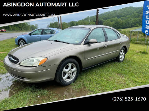 2003 Ford Taurus for sale at ABINGDON AUTOMART LLC in Abingdon VA