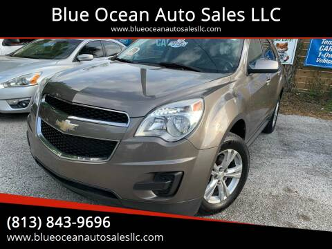 2011 Chevrolet Equinox for sale at Blue Ocean Auto Sales LLC in Tampa FL