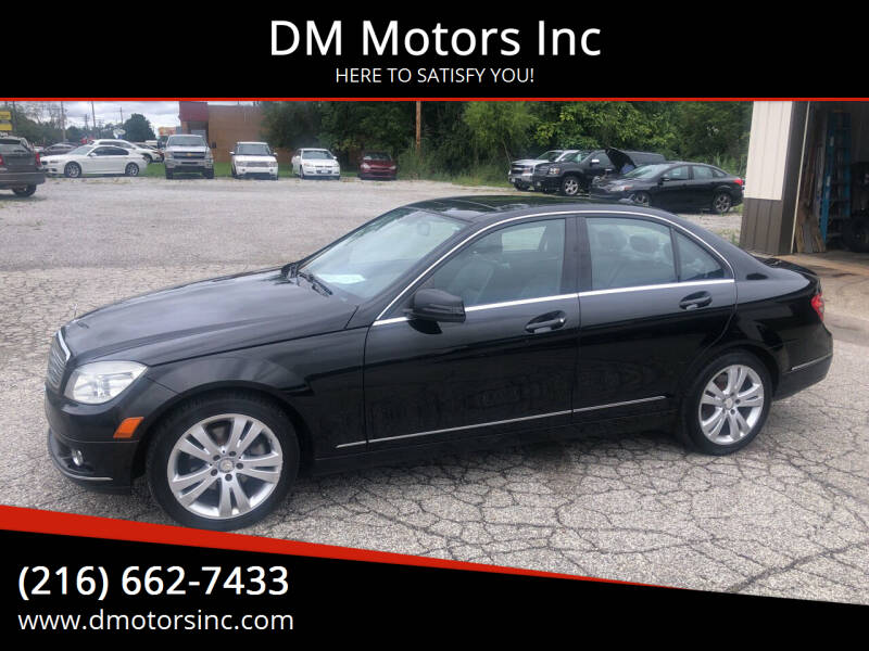 2011 Mercedes-Benz C-Class for sale at DM Motors Inc in Maple Heights OH