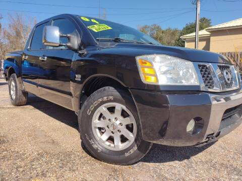 2004 Nissan Titan for sale at The Auto Connect LLC in Ocean Springs MS