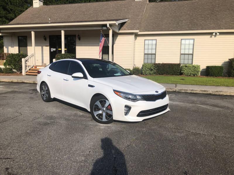 2018 Kia Optima for sale at J. MARTIN AUTO in Richmond Hill GA