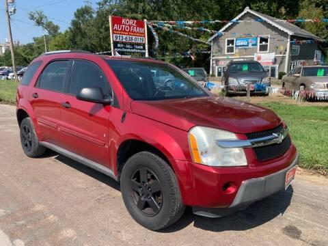 2006 Chevrolet Equinox for sale at Korz Auto Farm in Kansas City KS