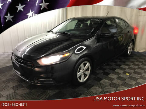 2016 Dodge Dart for sale at USA Motor Sport inc in Marlborough MA