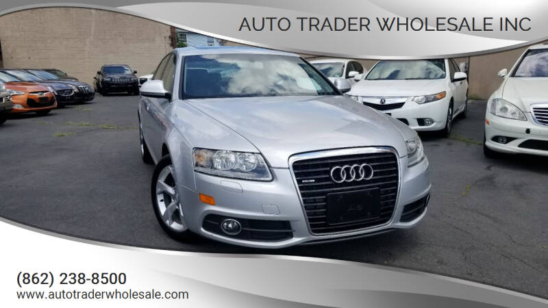 2011 Audi A6 for sale at Auto Trader Wholesale Inc in Saddle Brook NJ