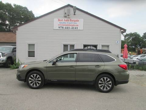 2017 Subaru Outback for sale at BEST AUTO BARGAIN inc. in Lowell MA