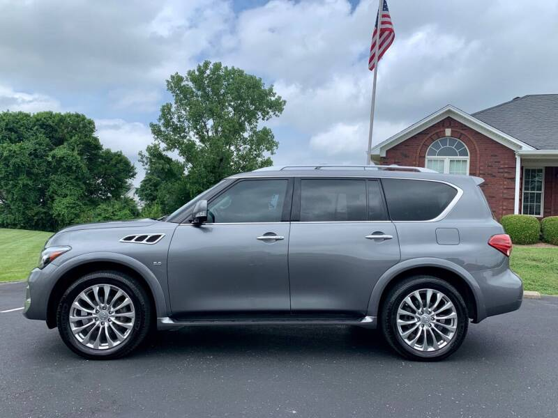 2017 Infiniti QX80 for sale at HillView Motors in Shepherdsville KY