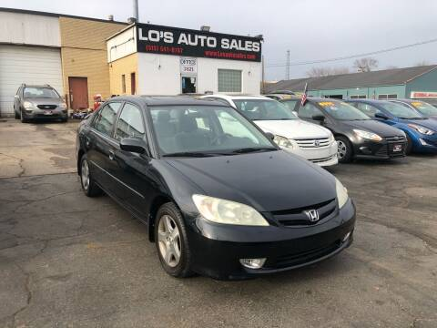 2004 Honda Civic for sale at Lo's Auto Sales in Cincinnati OH