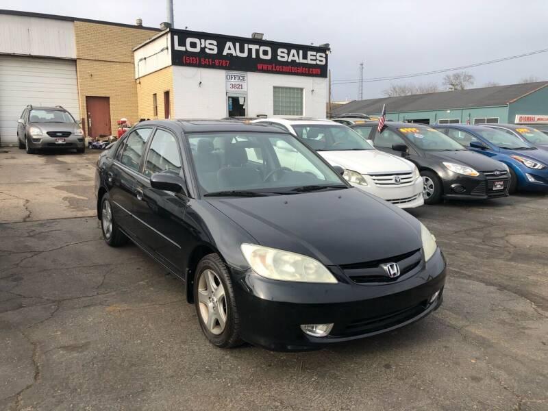 2004 Honda Civic for sale at Lo's Auto Sales in Cincinnati OH