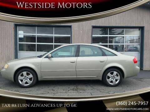 2003 Audi A6 for sale at Westside Motors in Mount Vernon WA