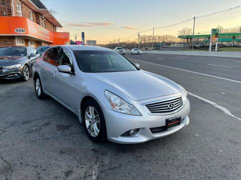 2013 Infiniti G37 Sedan for sale at Bloomingdale Auto Group - The Car House in Butler NJ
