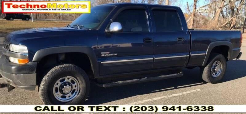 2002 Chevrolet Silverado 2500HD for sale at Techno Motors in Danbury CT