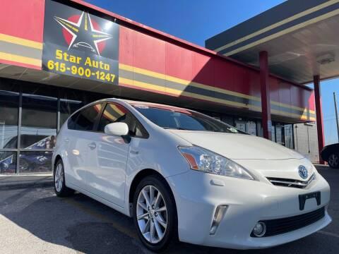 2012 Toyota Prius v for sale at Star Auto Inc. in Murfreesboro TN
