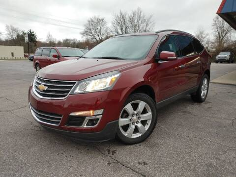 2017 Chevrolet Traverse for sale at Cruisin' Auto Sales in Madison IN