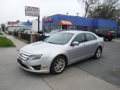 2010 Ford Fusion for sale at City Motors Auto Sale LLC in Redford MI