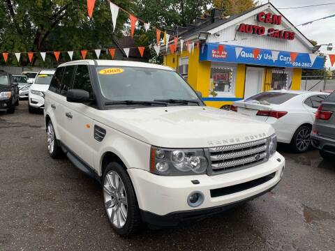 2008 Land Rover Range Rover Sport for sale at C & M Auto Sales in Detroit MI