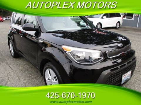 2014 Kia Soul for sale at Autoplex Motors in Lynnwood WA