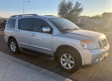 2010 Nissan Armada for sale at GEM Motorcars in Henderson NV