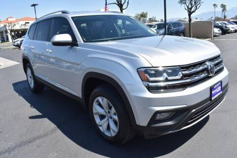 2018 Volkswagen Atlas for sale at DIAMOND VALLEY HONDA in Hemet CA