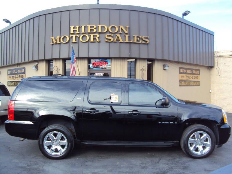 2009 GMC Yukon XL for sale at Hibdon Motor Sales in Clinton Township MI