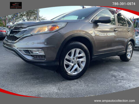 2015 Honda CR-V for sale at Amp Auto Collection in Fort Lauderdale FL