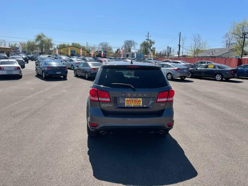 2014 Dodge Journey for sale at Mega Motors Inc. in Stockton CA