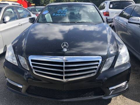 2012 Mercedes-Benz E-Class for sale at Pary's Auto Sales in Garland TX