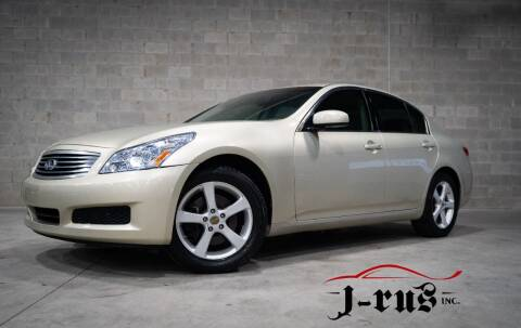 2007 Infiniti G35 for sale at J-Rus Inc. in Macomb MI