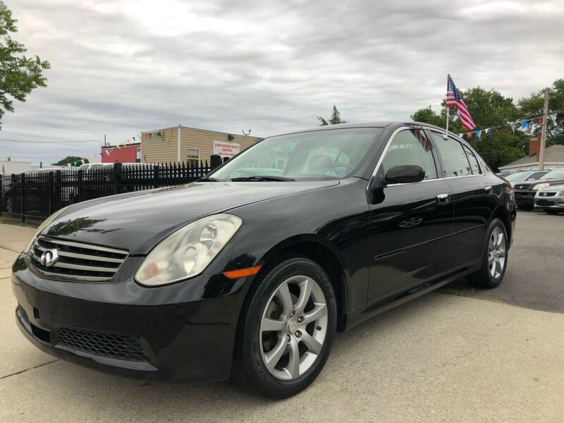 2005 Infiniti G35 for sale at Crestwood Auto Center in Richmond VA