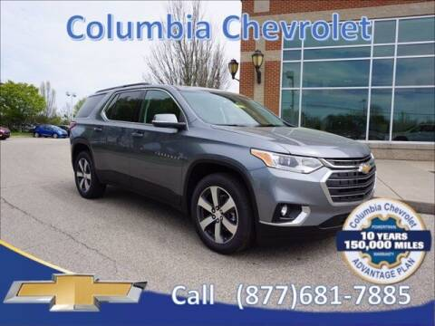 2021 Chevrolet Traverse for sale at COLUMBIA CHEVROLET in Cincinnati OH