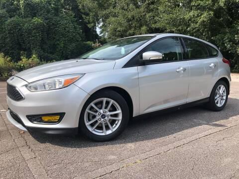 2015 Ford Focus for sale at El Camino Auto Sales in Gainesville GA