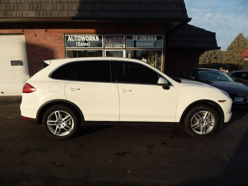 2012 Porsche Cayenne for sale at AUTOWORKS OF OMAHA INC in Omaha NE