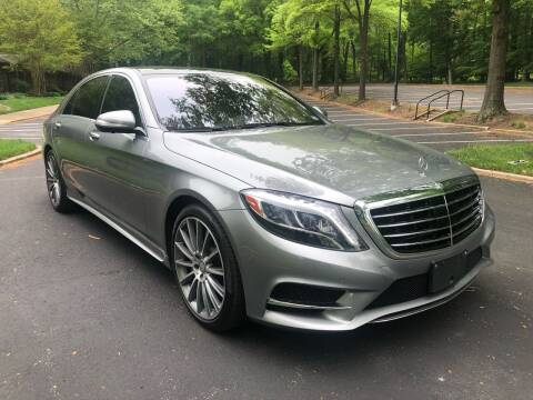 2015 Mercedes-Benz S-Class for sale at Bowie Motor Co in Bowie MD
