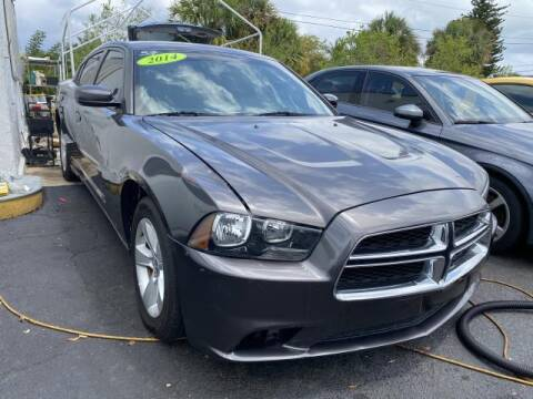 2014 Dodge Charger for sale at Mike Auto Sales in West Palm Beach FL