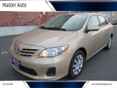 2013 Toyota Corolla for sale at Master Auto in Revere MA