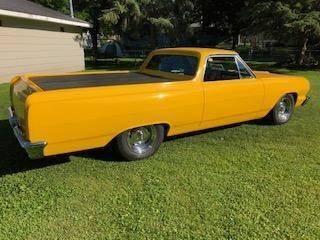1964 Chevrolet El Camino for sale at Classic Car Deals in Cadillac MI