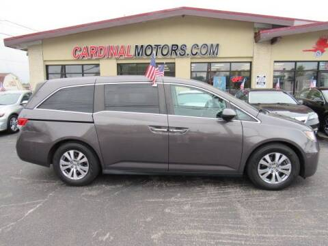 2015 Honda Odyssey for sale at Cardinal Motors in Fairfield OH