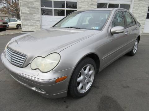 2003 Mercedes-Benz C-Class for sale at BOB & PENNY'S AUTOS in Plainville CT