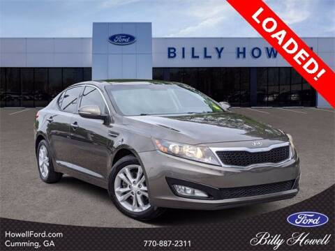 2012 Kia Optima for sale at BILLY HOWELL FORD LINCOLN in Cumming GA