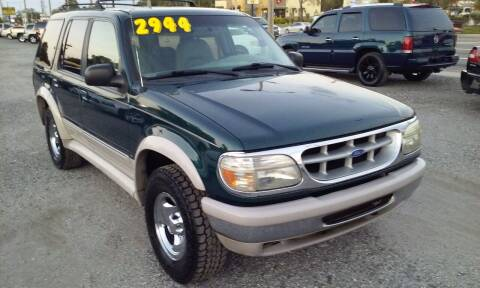 1995 Ford Explorer for sale at Pinellas Auto Brokers in Saint Petersburg FL