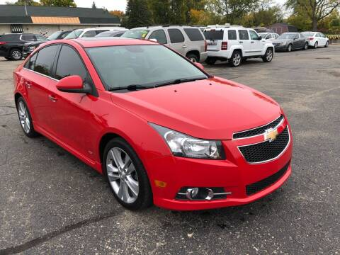 2014 Chevrolet Cruze for sale at Dean's Auto Sales in Flint MI