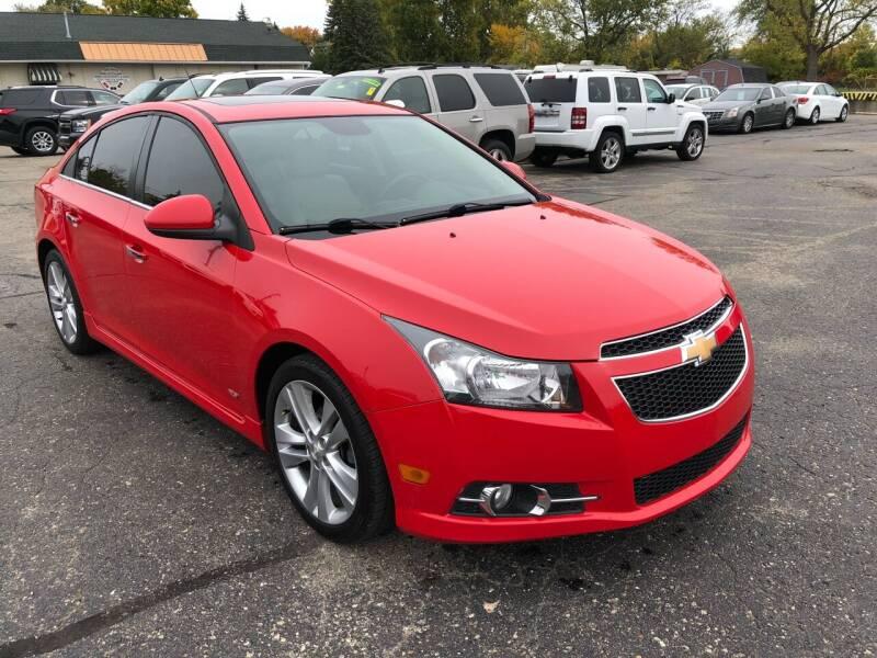 2014 Chevrolet Cruze for sale at Dean's Auto Sales in Flint MI