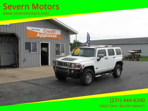 2007 HUMMER H3 for sale at Severn Motors in Cadillac MI