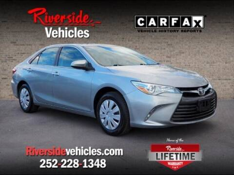 2015 Toyota Camry for sale at Riverside Mitsubishi(New Bern Auto Mart) in New Bern NC