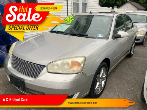 2006 Chevrolet Malibu for sale at A & R Used Cars in Clayton NJ
