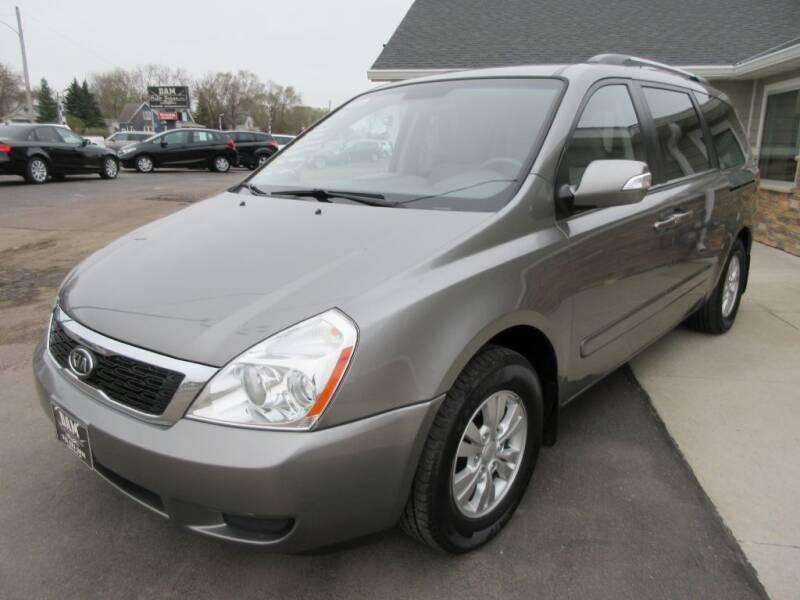 2011 Kia Sedona for sale at Dam Auto Sales in Sioux City IA